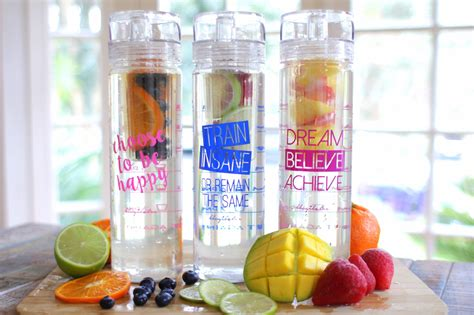 Detox Water Blogilaties by Believe Achieve Detox Bottle