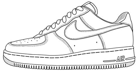 printable coloring pages nike shoes drawn shoe nike shoe pencil and in color drawn shoe nike