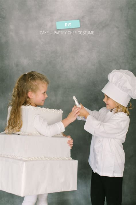 diy chef costume diy costume pastry chef cake style me