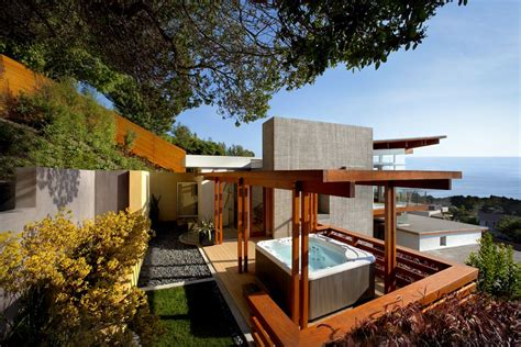 backyard architecture backyard hot tub ideas for installation and landscaping