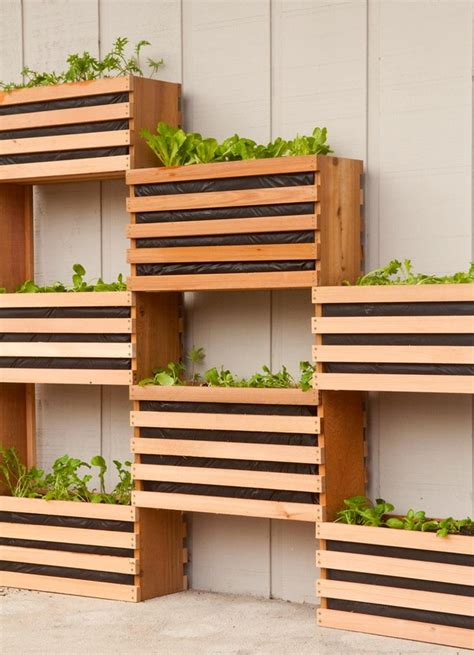 wall gardens diy how to make a modern space saving vertical vegetable