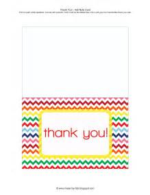tales of a crafty thank you card free printable