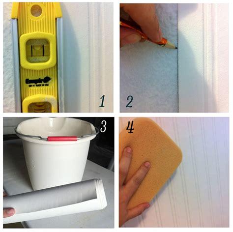 installing beadboard wallpaper bhg centsational style