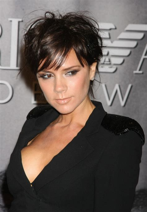 when did victoria beckham cut her hair very short breaking jennifer lawrence chops her hair off celebrity