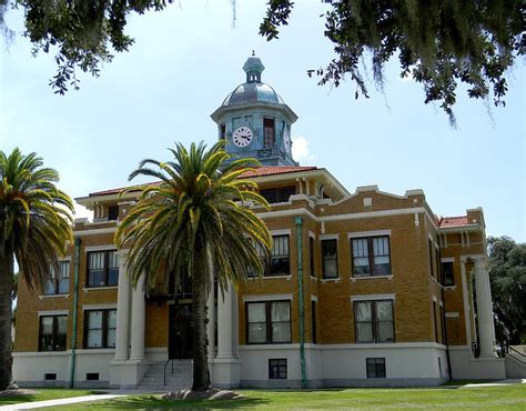 Citrus County Civil Search Historic Citrus County Court House 2 Photograph By Warren Thompson