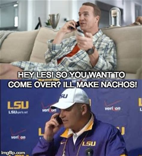 Les Miles Memes - peyton on sunday with les imgflip