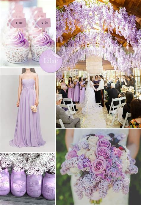 wedding colour themes bridesmaid dresses etc spring summer wedding ideas 2015 lilac bridesmaid dress