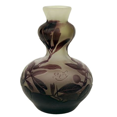 Galle Glass Vase by Galle Cameo Glass Vase Vases Sale