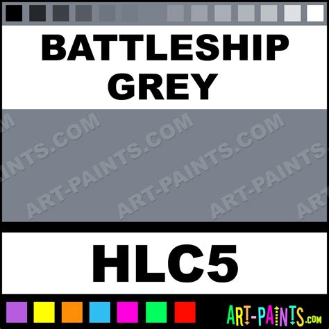 battleship grey homogenized ink paints hlc5 battleship grey paint battleship grey