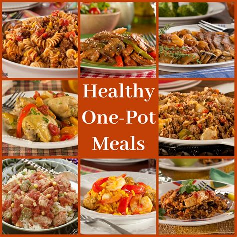 simple dinner recipes for 6 healthy one pot meals 6 easy diabetic dinner recipes
