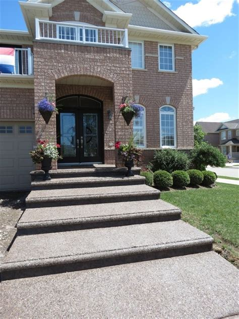1000 images about front yard on pinterest exposed aggregate stone steps and walkways