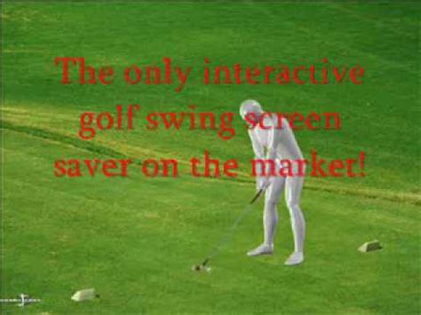model golf swing download modelpro interactive perfect golf swing screen saver from