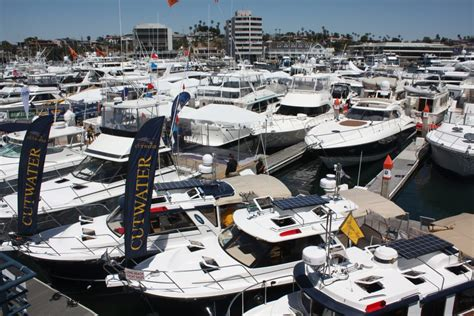 newport boat show newport beach local news newport boat show docks at lido