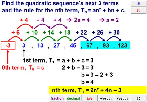 find pattern sequence numbers resourceaholic new gcse sequences