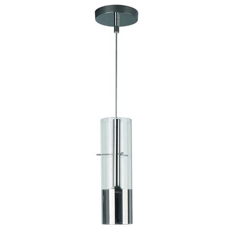 Led Lights Home Depot by Philips Tubuled 1 Light Chrome Led Hanging Pendant