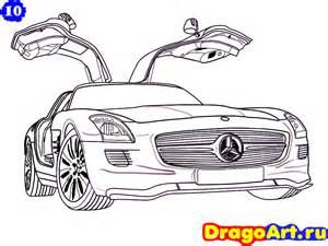 How To Draw A Mercedes Sls Amg Mercedes Sls Amg