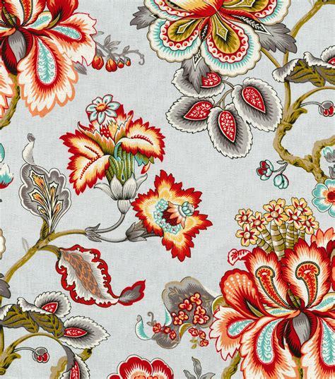 home decor print fabric hgtv home urban blosson berry home decor print fabric hgtv home bespoke blossoms