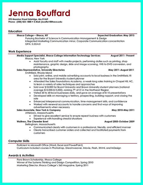 1000 ideas about student resume template on resume templates for students college