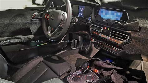 bmw  series interior exposed   spy shots