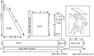 bluebird house plans free bluebird nest box plans