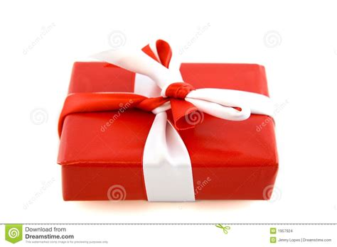 red present with bow stock images image 1957924