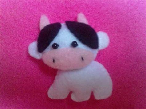 cara membuat donat hewan cara gang membuat boneka sapi kain flanel tutorial