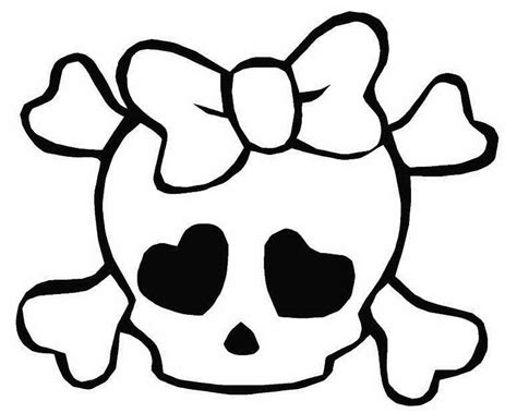 girl skulls colouring pages 518474 171 coloring pages for