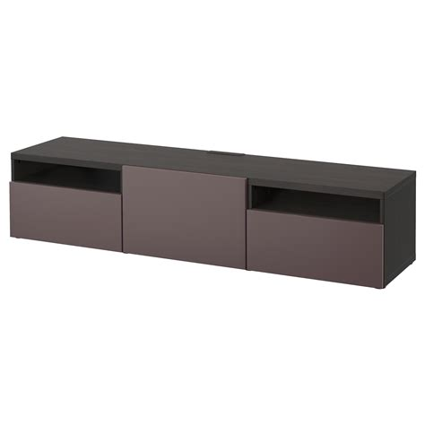 ikea black bench best 197 tv bench black brown valviken dark brown 180x40x38