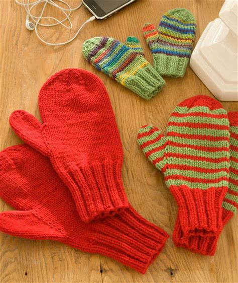 knit pattern heart mittens mittens for all red heart