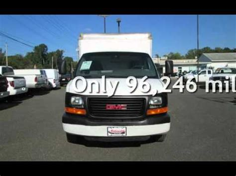 10 Foot Box Truck For Sale by 2004 Gmc Savana 3500 10 Box Truck For Sale In East