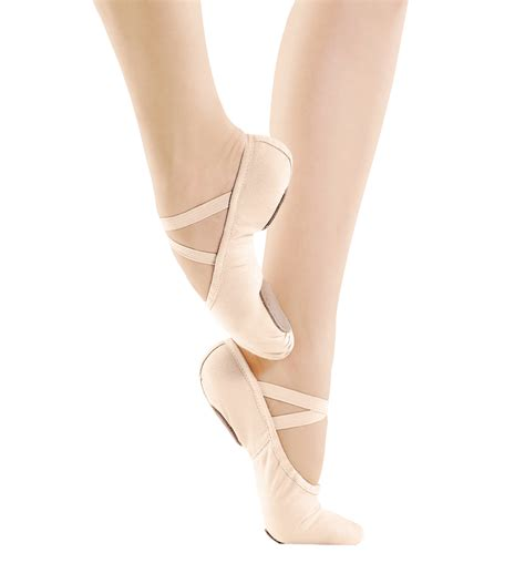 ballet slippers for canvas split sole ballet slippers shoes discountdance