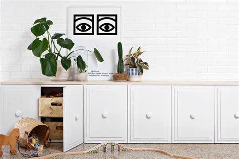 Diy Credenza hideaway storage ideas for small spaces