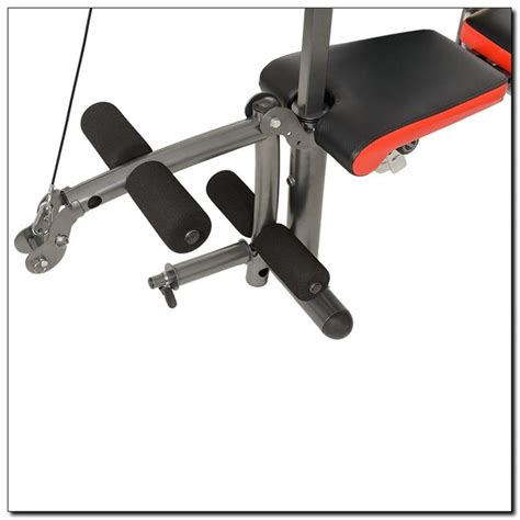 weight bench with lat tower ls5730 hms weight lifting bench with lat tower