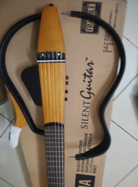 Harga Gitar Yamaha Silent jual gitar yamaha silent slg 110n free tas original