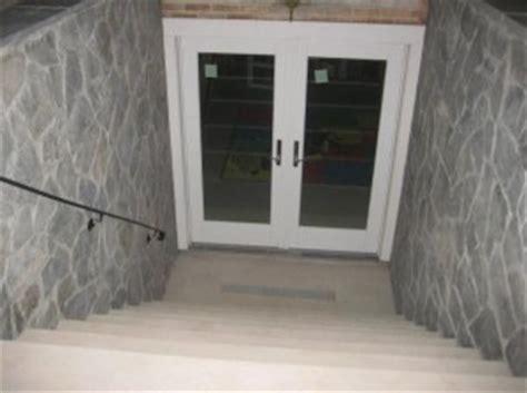 basement egress door rooms