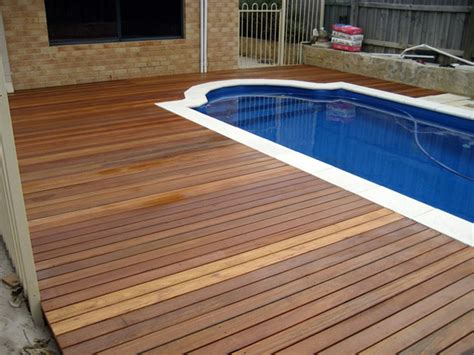 wooden pool decks pool besf of ideas and patio design with semi inground