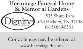 ernestine obituary hickory tn the tennessean