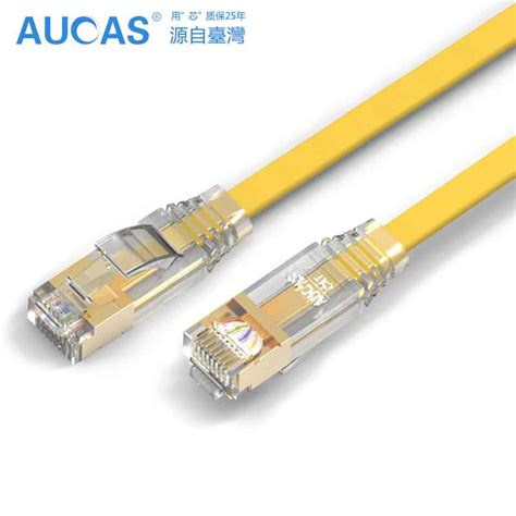 Lan Cat 6 Uk 15 M Highspeed aucas high speed 1m 2m 5m 10m 15m rj45 network lan cable patch cord cable cat7 flat computer