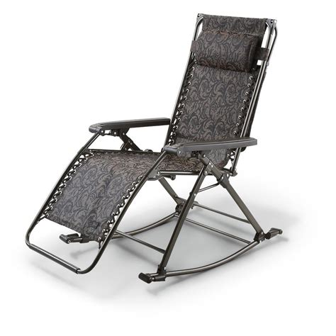 Zero Gravity Chair With Canopy by Zero Gravity Chair Rocker With Sun Canopy 618888 Chairs At Sportsman S Guide