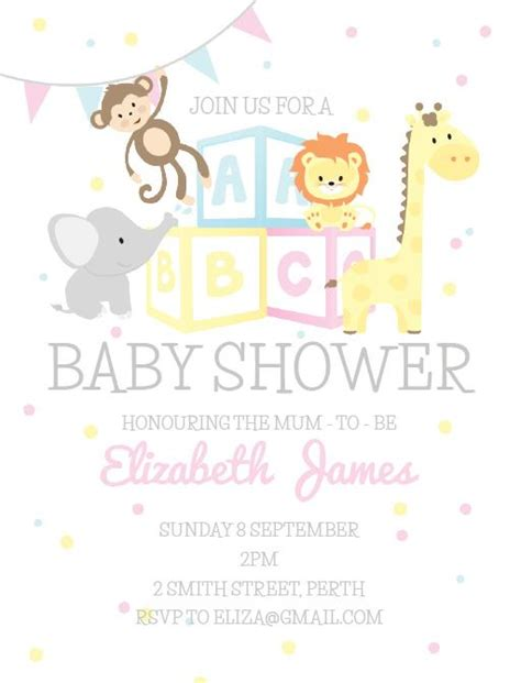 Baby Shower Invite by Baby Shower Invitations