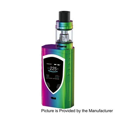 color pro authentic smoktech procolor 225w 7 color tc vw mod 2ml
