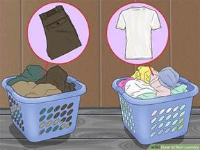 sorted laundry how to sort laundry 10 steps with pictures wikihow