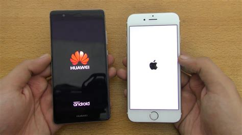 iphone v huawei huawei p9 vs iphone 6s speed test 4k