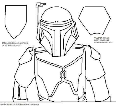 mandalorian armor template wof mandalorian armor templates images