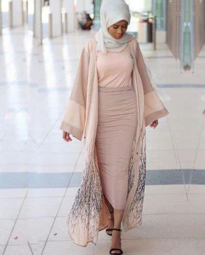 Pastel Gamis Abaya Blush Pastel Neutral Abaya Style Abaya Designs For