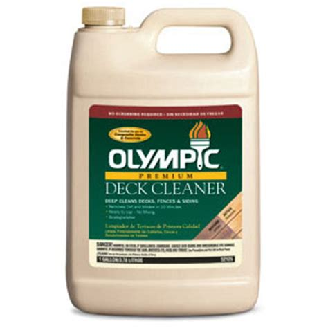olympic premium deck cleaner wood restoration