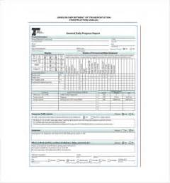 free daily report template daily report template daily report format free