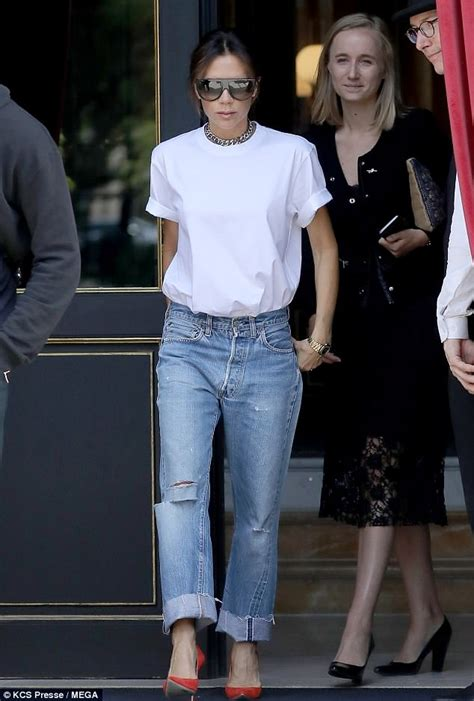 Posh Spice Is No Style Icon by Beckham Steps Out In Daily Mail