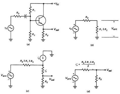 transistor bjt como lificador emisor comun figura 18