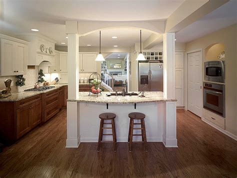 15 beautiful kitchen island designs with columns housely